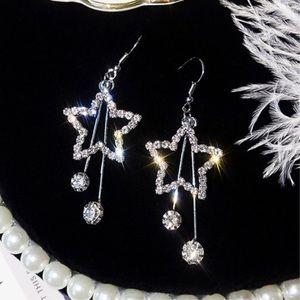 ⭐️ Star Tassle Drop Earrings ⭐️